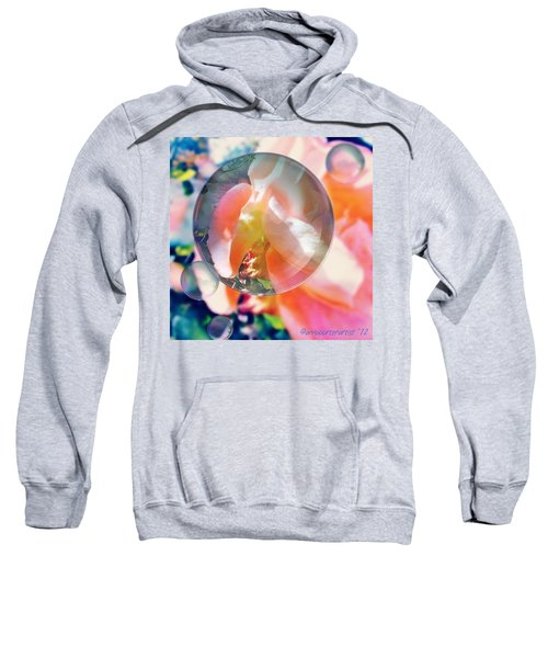 Beautiful Rose Marble - Autumn Light Sweatshirt