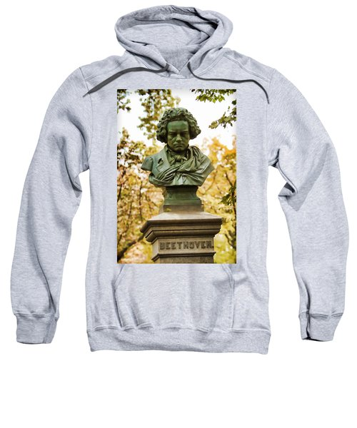 Beethoven In Central Park Sweatshirt
