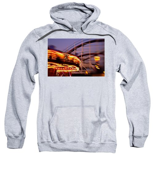 Did I Dream It Belmont Park Rollercoaster Sweatshirt