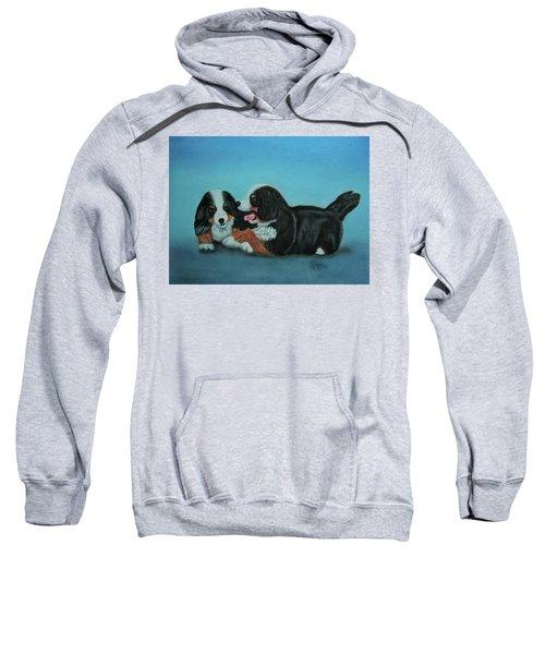 Bernese Mountain Puppies Sweatshirt
