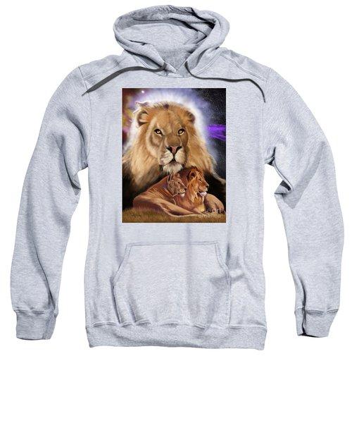 Third In The Big Cat Series - Lion Sweatshirt
