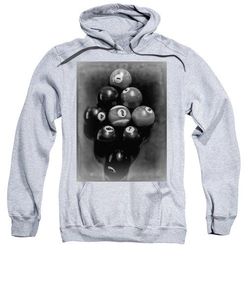 Billiards Art - Your Break - Bw  Sweatshirt