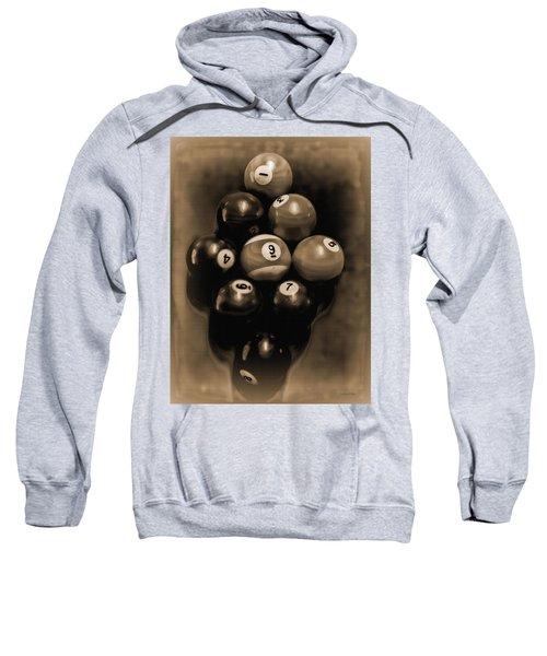 Billiards Art - Your Break - Bw Opal Sweatshirt