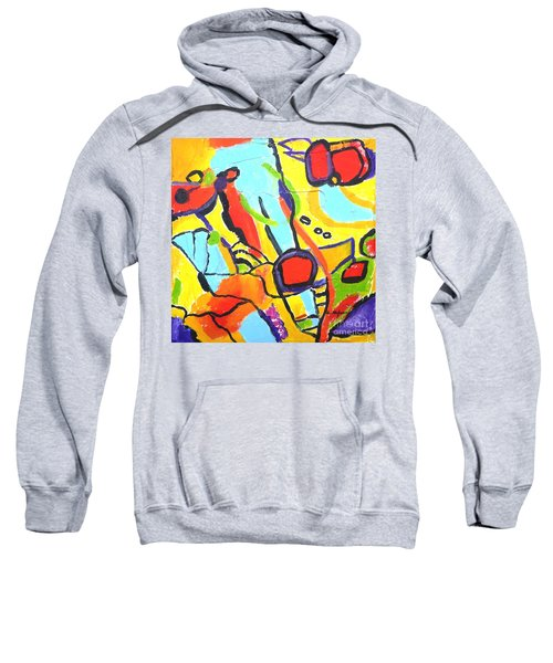 Birds On A Wire Sweatshirt