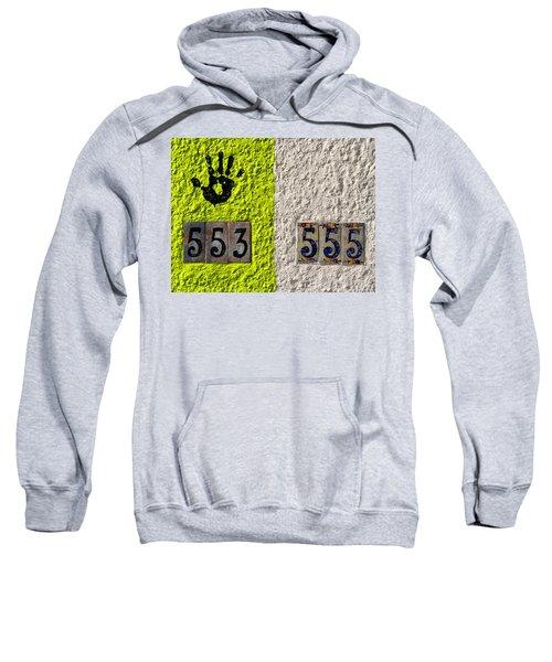 Black Hand Sweatshirt