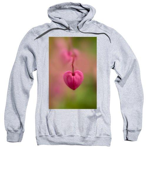 Bleeding Heart Flower Sweatshirt