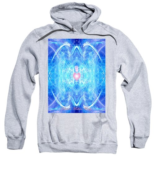 Blessed Mother Mary Sweatshirt