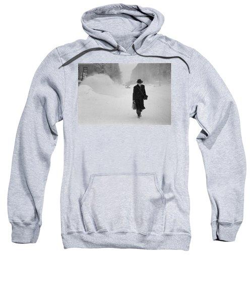Blizzard On Park Avenue Sweatshirt