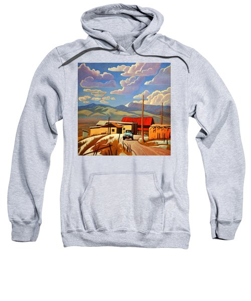 Blue Apache Sweatshirt