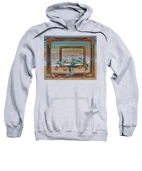 Blue Crab Stars Sweatshirt