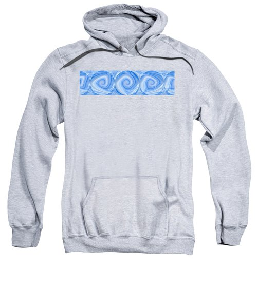 Blue Design Sweatshirt