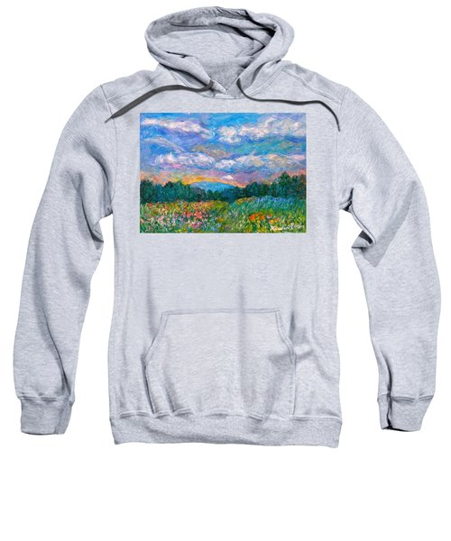 Blue Ridge Wildflowers Sweatshirt