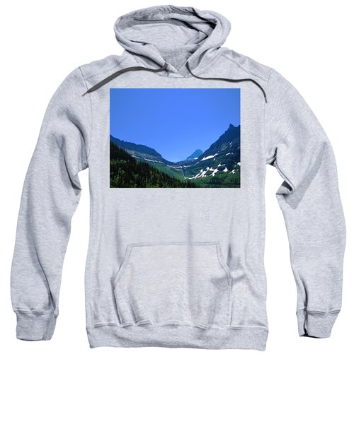Blue Sky Mountain Sweatshirt