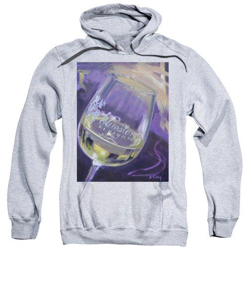 Bluestone Vineyard Wineglass Sweatshirt