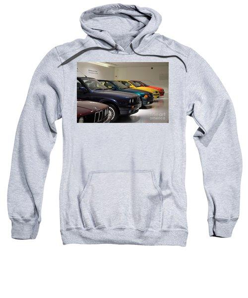 Bmw Cars Through The Years Munich Germany Sweatshirt