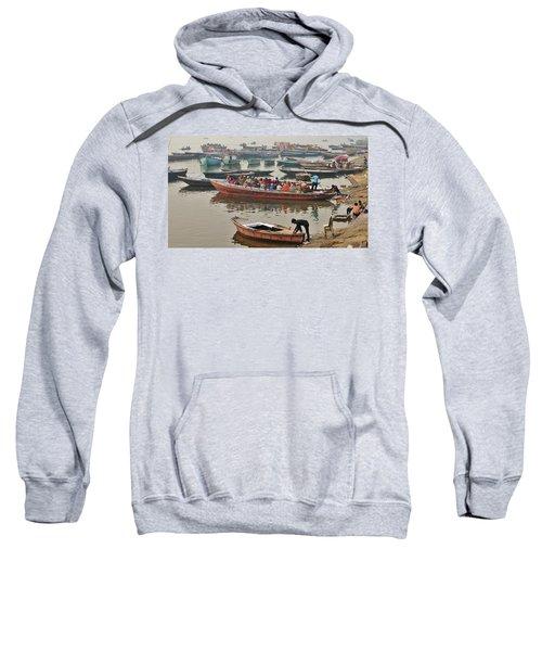 The Journey - Varanasi India Sweatshirt