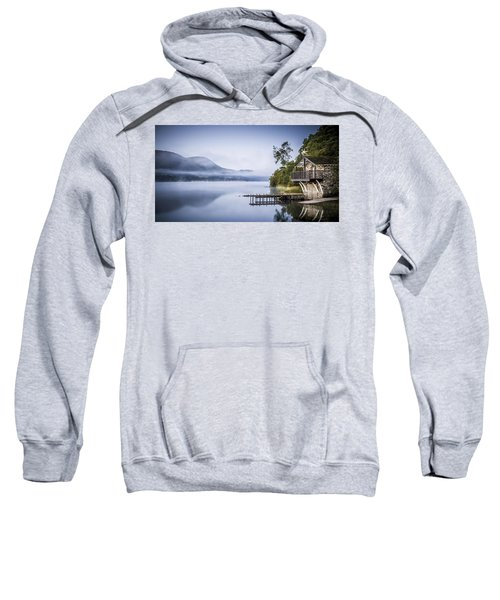 Boathouse At Pooley Bridge Sweatshirt