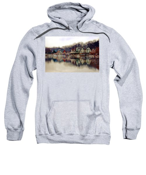 Boathouse Row Philadelphia Sweatshirt