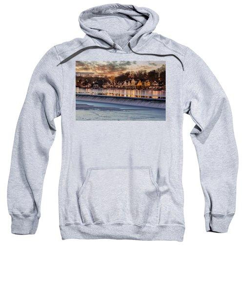 Boathouse Row Philadelphia Pa Sweatshirt