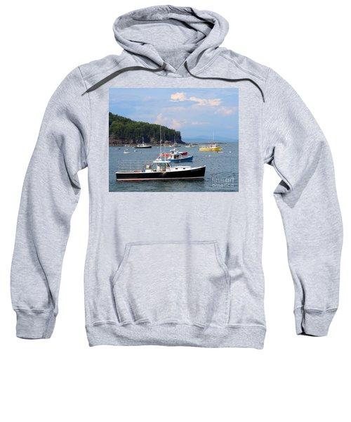 Boats In Bar Harbor Sweatshirt