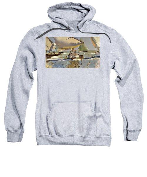 Boats On The Shore Sweatshirt
