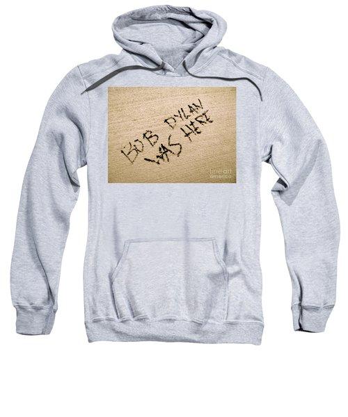 Bob Dylan Graffiti Sweatshirt