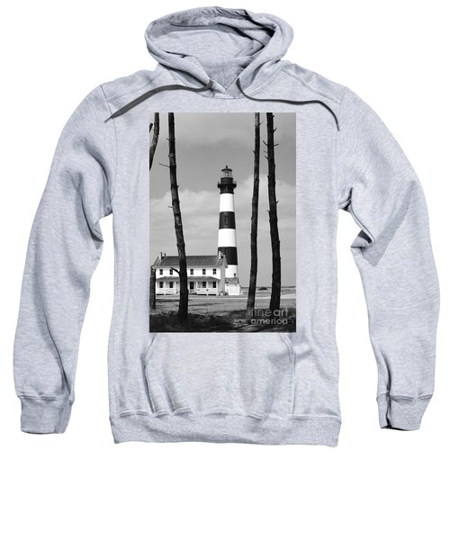 Bodie Island Lighthouse In The Outer Banks Sweatshirt