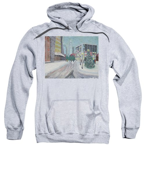 Boston First Snow Sweatshirt