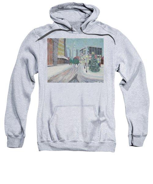 Boston First Snow Sweatshirt