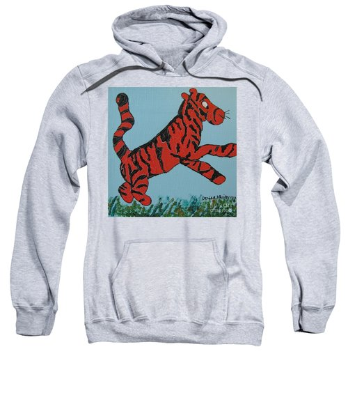 Sweatshirt featuring the painting Bounce by Denise Railey