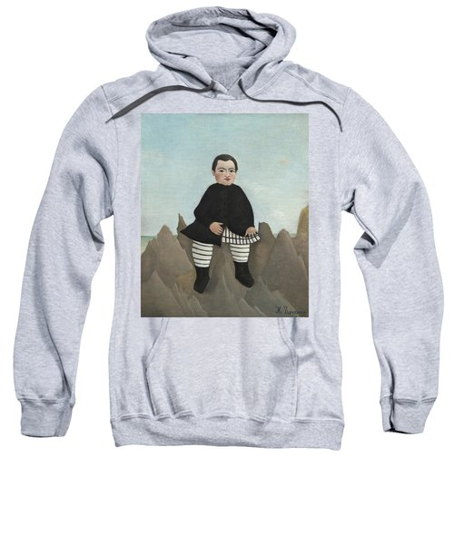 Boy On The Rocks Sweatshirt