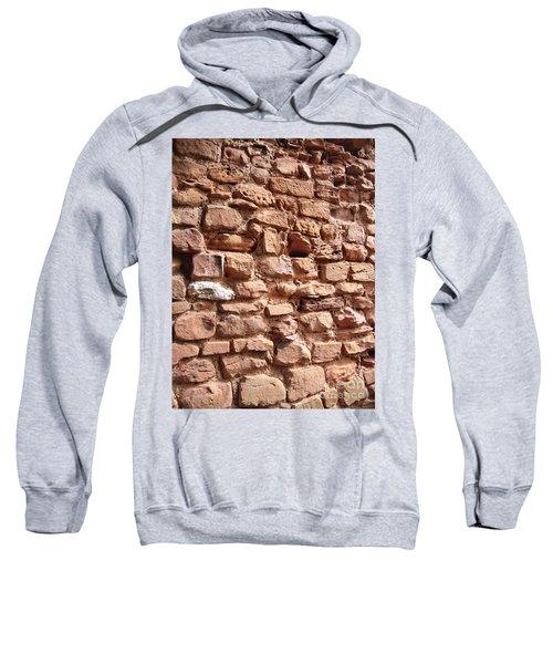 Sweatshirt featuring the photograph Bricks by Denise Railey
