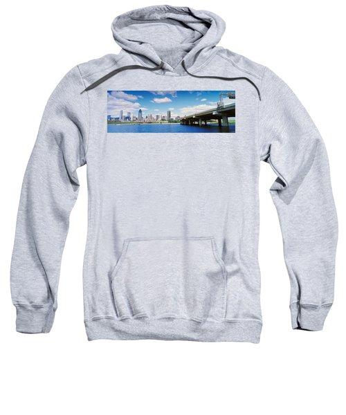 Bridge Across A Canal, Lachine Canal Sweatshirt
