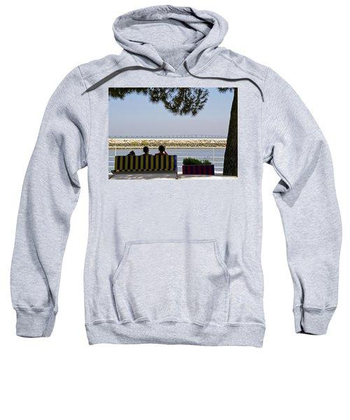 Bridge Over The Tejo River Sweatshirt