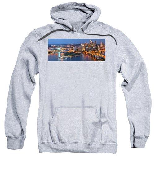 Bridge To The Pittsburgh Skyline Sweatshirt
