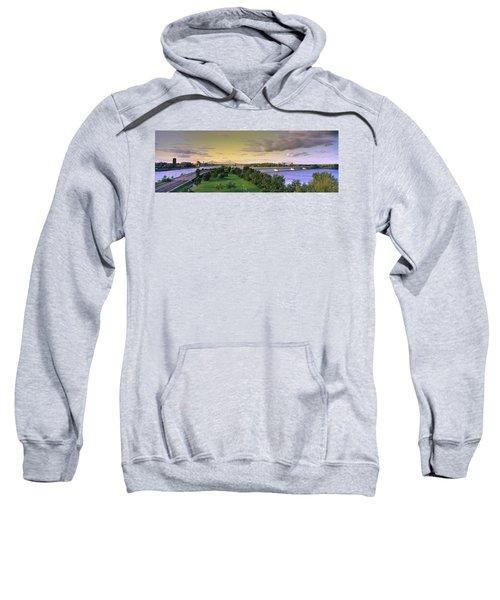 Bridges Across A River, Jacques Cartier Sweatshirt