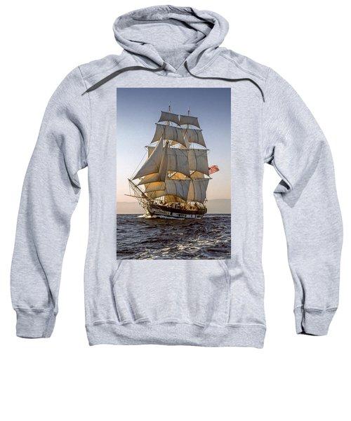 Brig Pilgrim Off Santa Barbara Sweatshirt