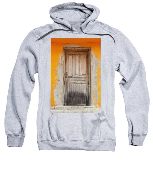 Brightly Colored Door And Wall Sweatshirt
