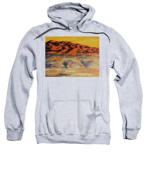 Brilliant Montana Mountains And Foothills Sweatshirt