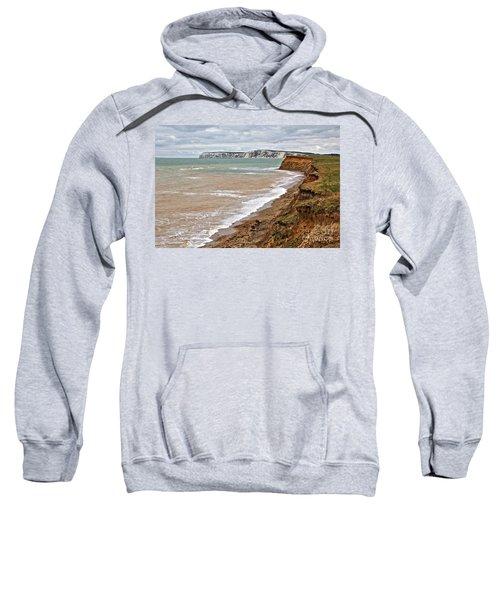 Brook Bay And Chalk Cliffs Sweatshirt