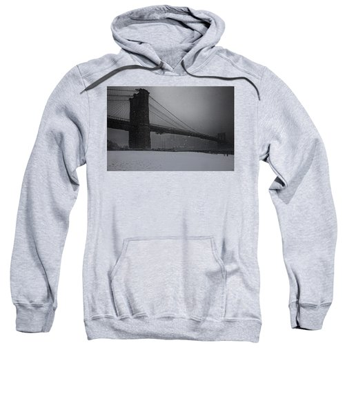 Brooklyn Bridge Blizzard Sweatshirt
