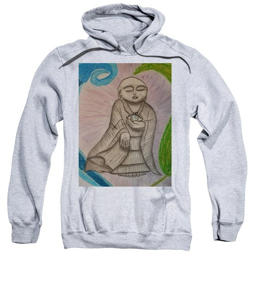 Buddha And The Eye Of The World Sweatshirt
