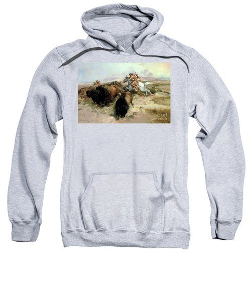 Buffalo Hunt Sweatshirt
