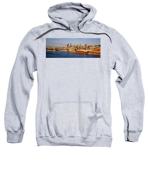 Buildings At The Waterfront, Montreal Sweatshirt