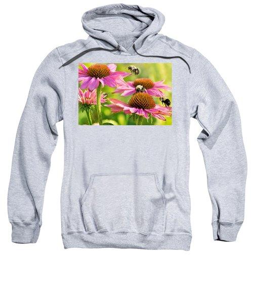 Bumbling Bees Sweatshirt by Bill Pevlor