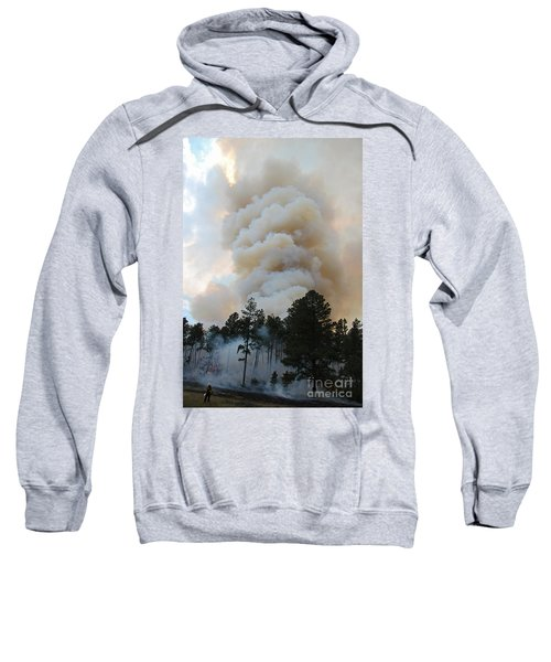 Burnout Near Song Dog Road Sweatshirt