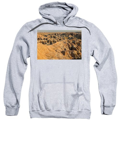 Burns Basin Overlook Badlands National Park Sweatshirt
