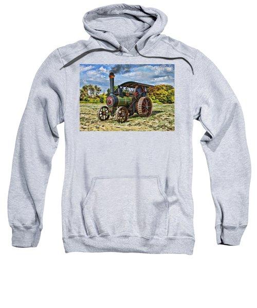 Burrell Steam Engine  Sweatshirt
