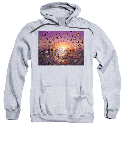 Butterfly Sunset Sweatshirt