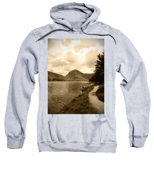 Buttermere Bright Sky Sweatshirt by Kathy Spall